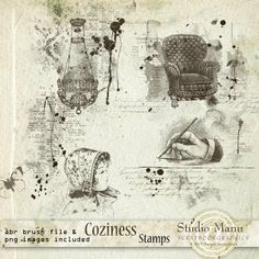 Coziness - Stamps