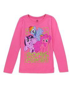 My Little Pony 'Pony Power' Long-Sleeve Tee - Girls