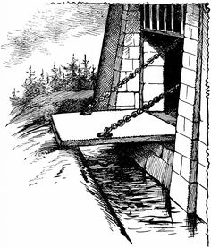 Draw Bridge Clipart Etc