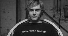 "Tate Langdon — tatelangdongulusu:   ""Just a smile or a kind word..."