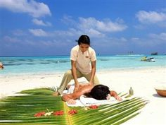 Paradise Island Resort & Spa Maldives Islands - Spa on the Beach