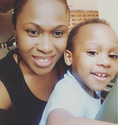 Uche Jombos Heart Can Barely Contain Her Love For Her Son On His 2nd Birthday