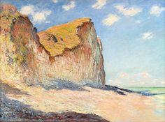 Falaises près de Pourville (C Monet - W 788),1882.