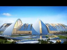 London-based Twelve Architects & Masterplanners have won a competition to deliver a radical new airport for Rosto. Concept Architecture, Futuristic Architecture, Rostov On Don, Russia World Cup, Passive Design, Architecture Visualization, Airports, Architects, Competition