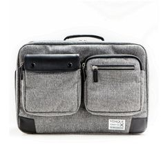 shop ethical sustainable & ethical clothing by Venque Briefpack XL Grey BE | Venque | Ethical fashion | Sustainable materials | Men | bags | Hipster | Urban | Professional Ethi