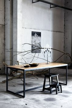 Form table by House Doctor DK — BODIE and FOU - Award-winning inspiring concept store House Doctor, Furniture Inspiration, Interior Inspiration, Table Furniture, Furniture Design, Diy Tisch, Casa Loft, Interior Architecture, Interior Design
