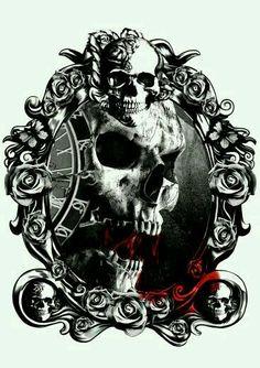 skull camafeo
