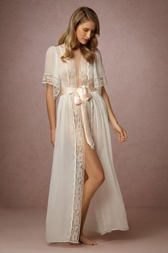 BHLDN Starlet Robe in  Bride Bridal Lingerie at BHLDN