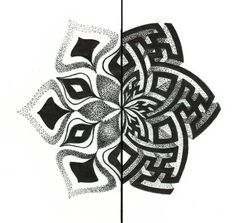 La Visione in dotwork di Diamante Murru, artista sarda la cui produzione spazia da pittura tradizionale a digitale, body art e tatuaggio.