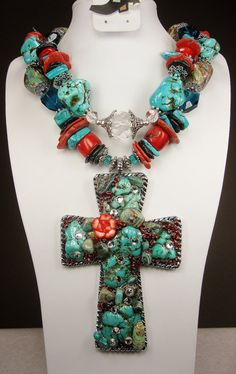 This site on etsy has fabulous western chunky necklaces for all of you cowgirls out there.