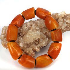 Old Baltic Amber Bead Bracelet