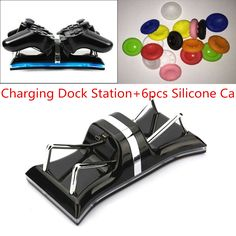 Dual Charging Back Stand Docking Station with LED light Indicator Compatible with Sony PlayStation PS3  PS3 Slim Controller