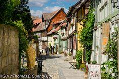 Quedlinburg Germany by RamjetDK
