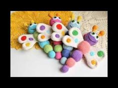 Sonajero de crochet - YouTube