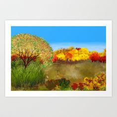 The Midow Art Print by Marisa Lopez-Cruzan - $22.88