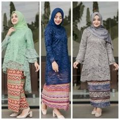 New Ideas for wedding ideas dresses indian Model Kebaya Modern Muslim, Model Kebaya Brokat Modern, Kebaya Modern Hijab, Kebaya Hijab, Kebaya Dress, Batik Kebaya, Vera Kebaya, Hijab Dress, Dress Outfits