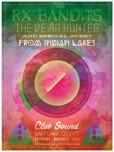 RX Bandits ~ Club Sound ~ Salt Lake City #RXBANDITS #RXB #THEDEARHUNTER #FROMINDIANLAKES #SLC #UT #SALTLAKECITY #CLUBSOUND