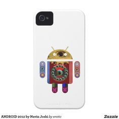 ANDROID 2012 by Navin Joshi iPhone 4 Cases