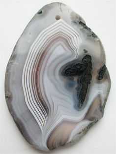 Botswana Agate Pendant Stone by StoneCollector on Etsy, $12.99