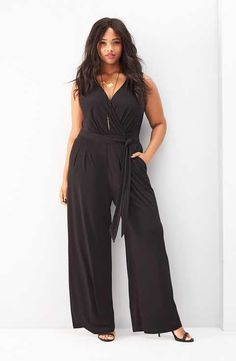 Vince Camuto Jumpsuit & Accessories (Plus Size)