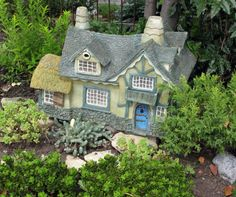 Two Story Fairy Cottage - Ideas for making Fairy Gardens