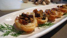 Vegan Mushroom Mini Quiches