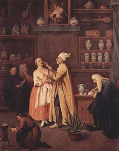 The Apothecary by Pietro Longhi 1752