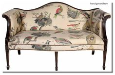 fabric used for antique bench - foyer Loveseat Sofa, Sofas, Couches, Take A Seat, Love Seat, Antique Bench, Duncan Phyfe, French Chairs, Settees