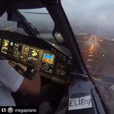 VIDEO -  #Repost @megaplane ・・・ #MEGAVIDEO by @elif737 /Embraer 190