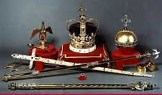 The British Crown Jewels have been kept in the Tower of London since 1303, protected by armed guards and never leave their location. The Crown Jewels, which are part of the Royal Collection, are displayed to millions of visitors every year, guarded by Yeomen Warders ('Beefeaters') in the Tower of London, England, UK