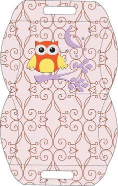 Passatempo da Ana: Kit - Corujinha (Marrom e Rosa) http://passatempodana.blogspot.ca/2012/06/kit-corujinha-marrom-e-rosa.html