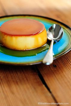 This Easy Flan Recipe is a delicious ending to any meal and so perfect for preparing ahead when entertaining.
