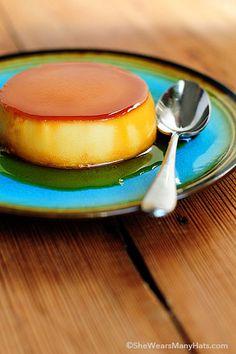 Easy Creamy Flan Rec