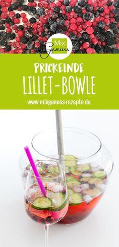 Prickelnde Lillet-Bowle – MixGenuss Blog