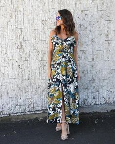 Sunshine Seeker Floral Maxi Dress