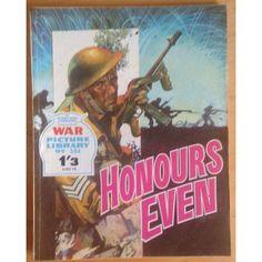 War Comic Picture Library #594 Action Adventure Fleetway £2.00