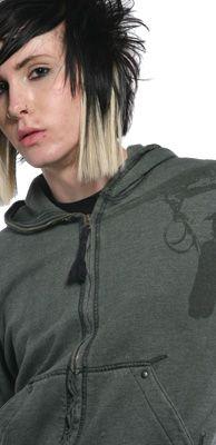 LIP SERVICE Kill City hoodie #M73-013