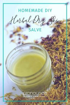 Herbal Dry Skin Salve (with chamomile, calendula, & roses) • pronounceskincare.com