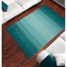 Dalyn Rug Co. Torino Teal Area Rug | AllModern