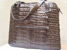 Crocodile bag Borsa in coda di coccodrillo selvaggio