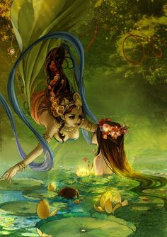"""""""Depth of friendship does not depend on length of acquaintance."""" ~ Rabindranath Tagore ♥♥ Beautiful Artwork ~ Unknown"""