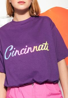 Cincinnati rainbow tee - 90s vintage pride t-shirt   Pop Sick   ASOS Marketplace
