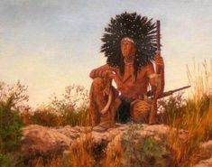 Notable Native Americans on the Frontier – Page 2 – Legends of America Cheyenne Tribe, Dog Soldiers, Native American Indians, Native Americans, Plains Indians, Indian Paintings, Western Art, American History, Best Dogs