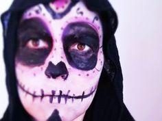 Maquillaje fácil de Calavera para Halloween