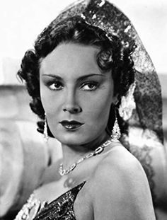 Lída Baarová, patřila k nejkrásnějším českým prvorepublikovým herečkám.