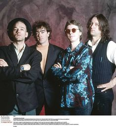R.E.M. Michael Stipe, Bill Berry, Mike Mills and Peter Buck