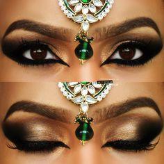 Neutral Arabic Wedding Makeup https://www.makeupbee.com/look.php?look_id=93411