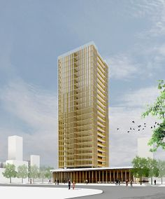 1 | The Future Is The Past: A Skyscraper Made Totally From Wood | Co.Design: business + innovation + design