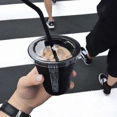 I find it a delicious flavoring for iced coffee! Coffee Cafe, Iced Coffee, Coffee Drinks, Coffee Milk, Cute Food, Yummy Food, Aesthetic Food, Beige Aesthetic, Aesthetic Coffee