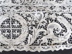 Antique Lace, Linens-Vintage Clothing-Textiles-Fans-Stella Niforos-New York: Antique Linens: Curtains